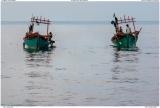 Two fishing boats