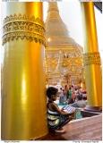 Praying - Shwedagon Pagoda