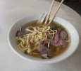 The great beef noodles