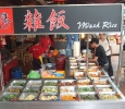 An alternative is the excellent mixed rice stall halfway along Petaling Street