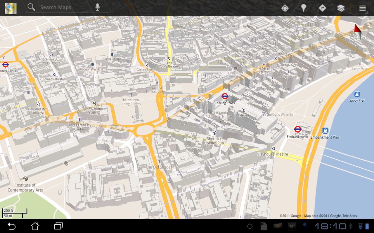 Google London Map.London In 3d Google Maps Adds A Dimension