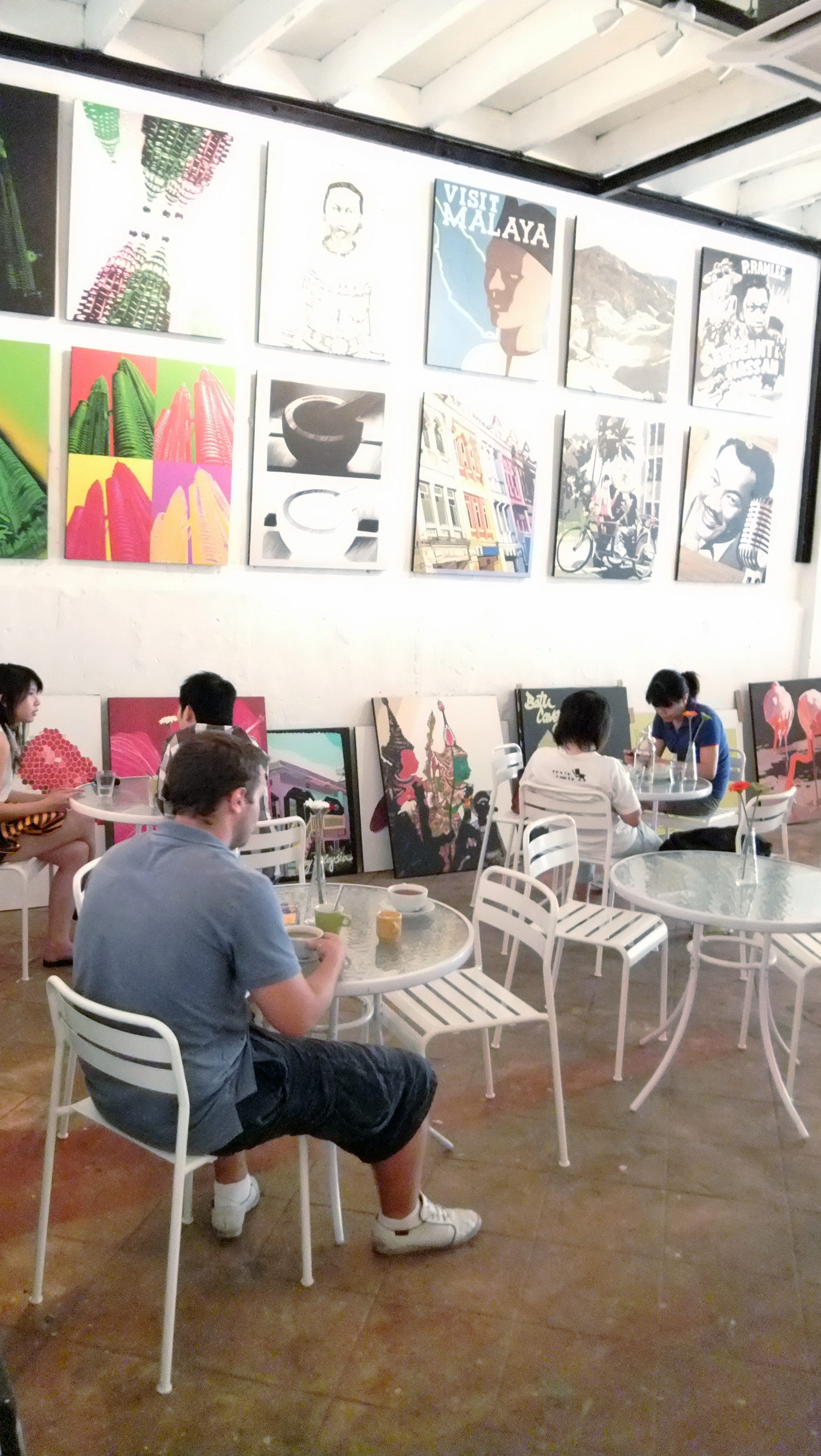 The Warehouse Gallery And Cafe Kuala Lumpur