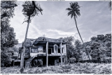 Abandoned villa in Kep, Cambodia