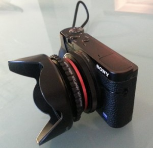 RX-100 lens hood 2
