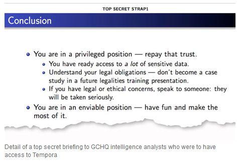 QCHQ briefing