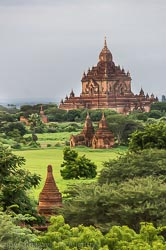 Morning in Old Bagan