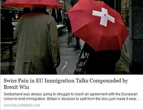 Bloomberg on Switzerland