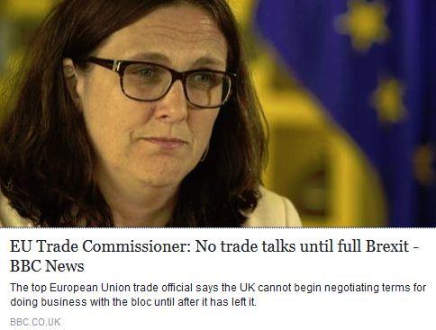 EU trade comissioner